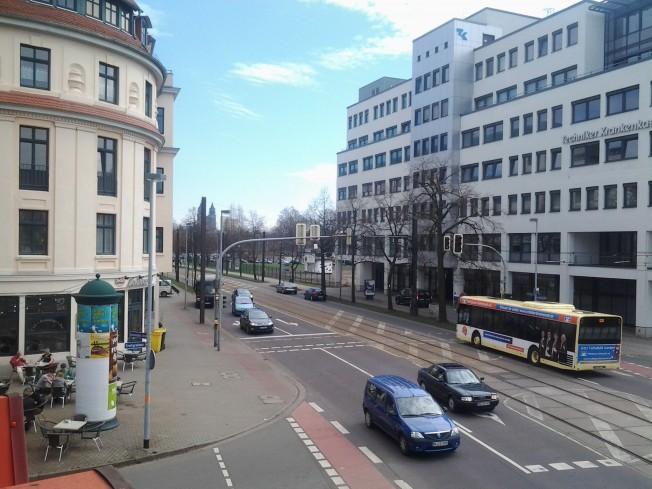 Blickrichtung: Osten (Altstadt/Zentrum)